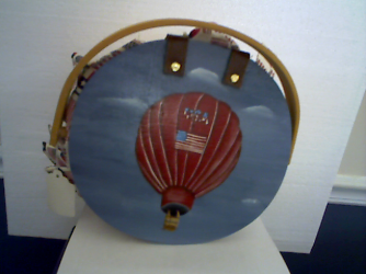 HOT AIR BALLOON BASKET WITH LINER