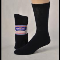DIABETIC SOCKS 9-11 NAVY BLUE