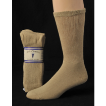 DIABETIC SOCKS 10-13 TAN