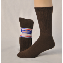 DIABETIC SOCKS 10-13 BROWN