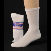 DIABETIC SOCKS 13-15 WHITE