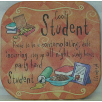 COOL STUDENT COASTER