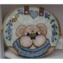 BEE BEAR BASKET