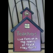 TEACHERS TIN SCHOOLHOUSE