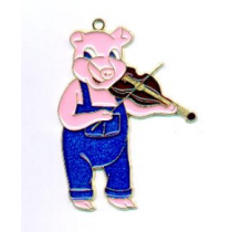PIG WITH FIDDLE