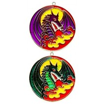 DRAGON IN CIRCLE
