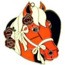 HORSE HEAD IN HEART