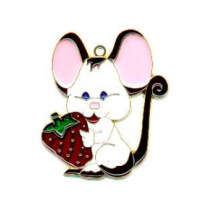 MOUSE W/ STRAWBERRY