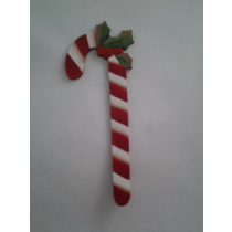 CANDY CANE HAND PAINTED