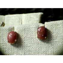 RHODONITE EARINGS