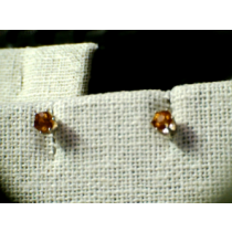 HESSENITE EARINGS GARNET